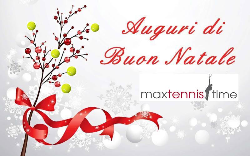 Auguri Di Natale Tennis.Auguri Di Buon Natale E Felice Anno Nuovo Max Tennis Time